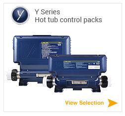 Gecko Y Series hot tub controls