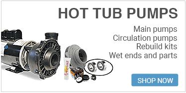 Hot tub pumps and pump parts