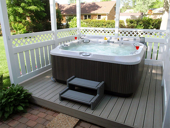 Setting Up A New Hot Tub In Canada