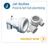 Hot tub jet bodies