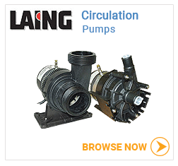 Laing hot tub circulation pumps