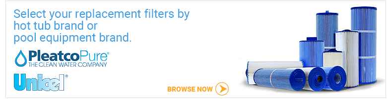 Replacement hot tub filters Canada by brand