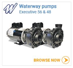 Waterway executive 48 & 56 pumps