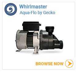 Whirlmaster pumps for jetted tubs