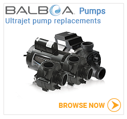 Balboa Ultrajet pumps and parts