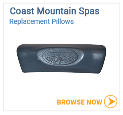 Coast Mountain Spas Pillows