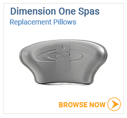 Dimension One Spas Pillows