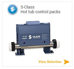 Gecko S-Class spa packs