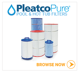 Pleatco hot tub filters