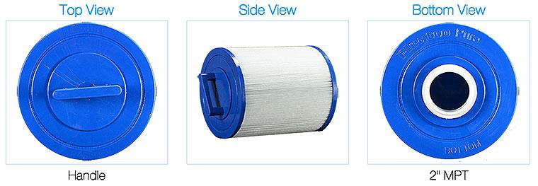 Pleatco pas50sv-fm2 Spa filter