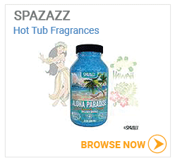 SPAZAZZ hot tub fragrances