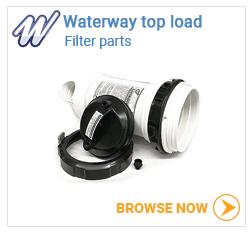 Waterway top load filter parts